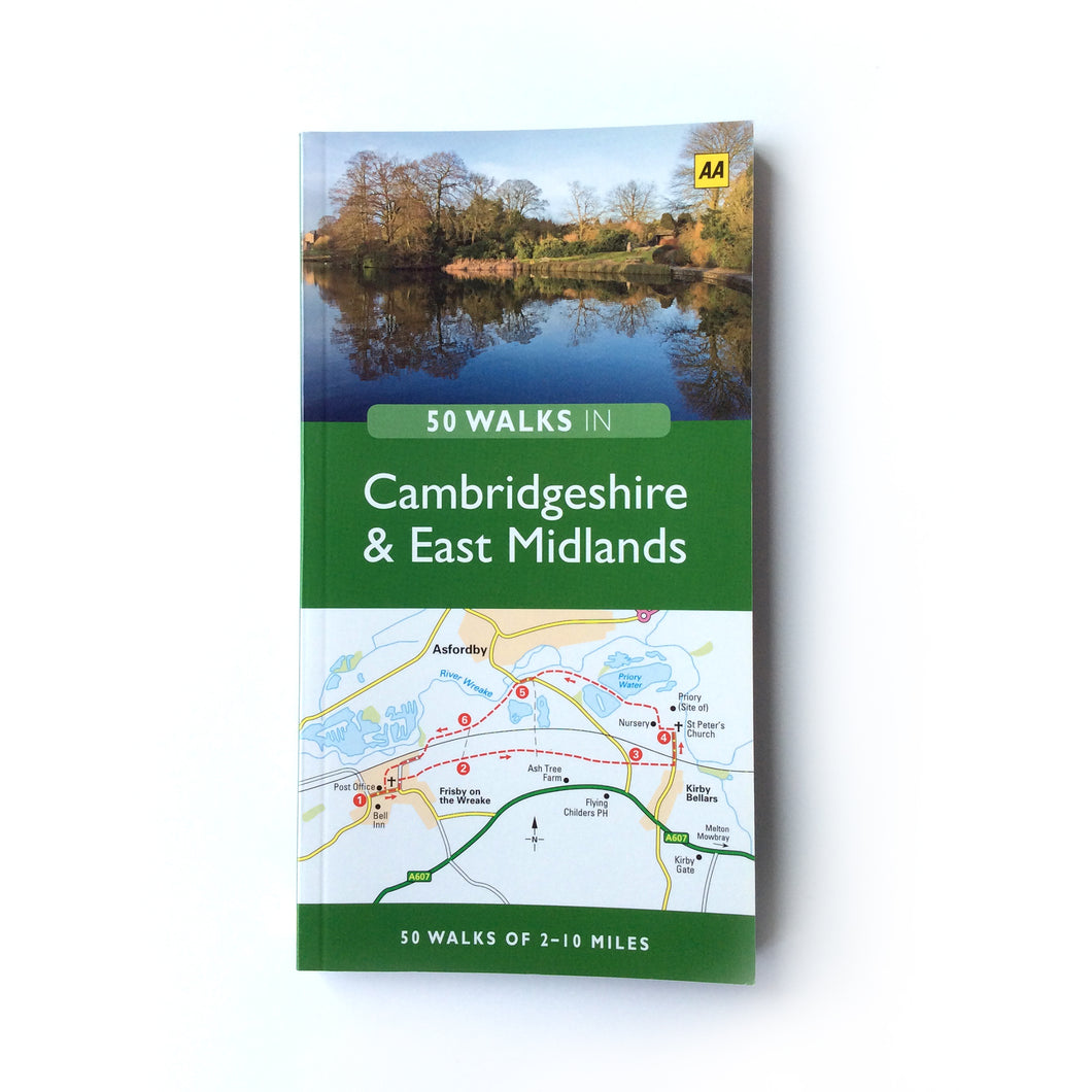 50 Walks in Cambridgeshire & The Midlands