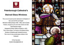 Load image into Gallery viewer, Peterborough Cathedral's Stained Glass Windows Cards by Paul Saunders