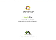 Load image into Gallery viewer, Peterborough City Buildings (colour) - Card