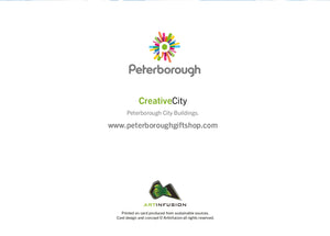Peterborough City Buildings (colour) - Card