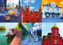 Load image into Gallery viewer, Peterborough Montage 2 Birthday Card