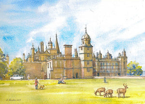 Burghley House, Stamford  (Card)