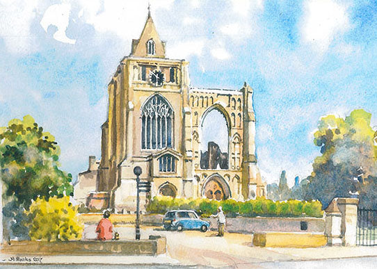 Crowland Abbey (Card)