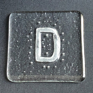 Initial D Glass Coaster - by Brian Withall, glassmaker