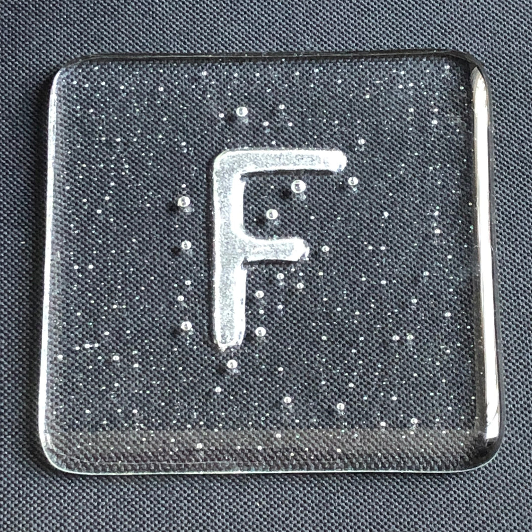 Glass coaster - F