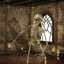 Load image into Gallery viewer, Skeleton Halloween card