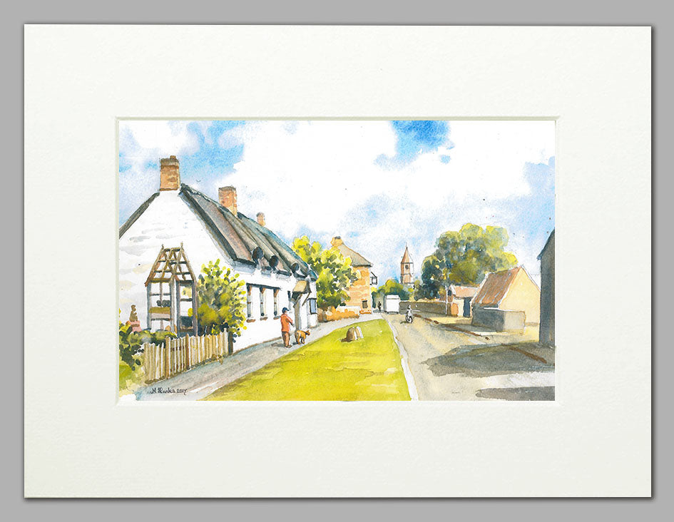 John Clare Cottage, Helpston  (A4 print of original watercolour)