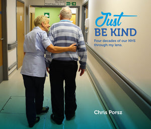 'Just be Kind' - 40 years of the NHS through the eyes of Peterborough's Paramedic Photographer, Chris Porsz