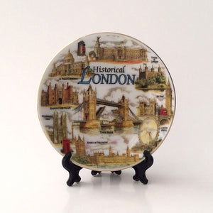 London range: Plate and stand (traditional)