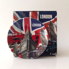 Load image into Gallery viewer, London range: Decorative plate and stand (modern)