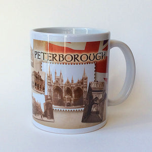 Traditional Peterborough Memories Mugs  (Set of 4)