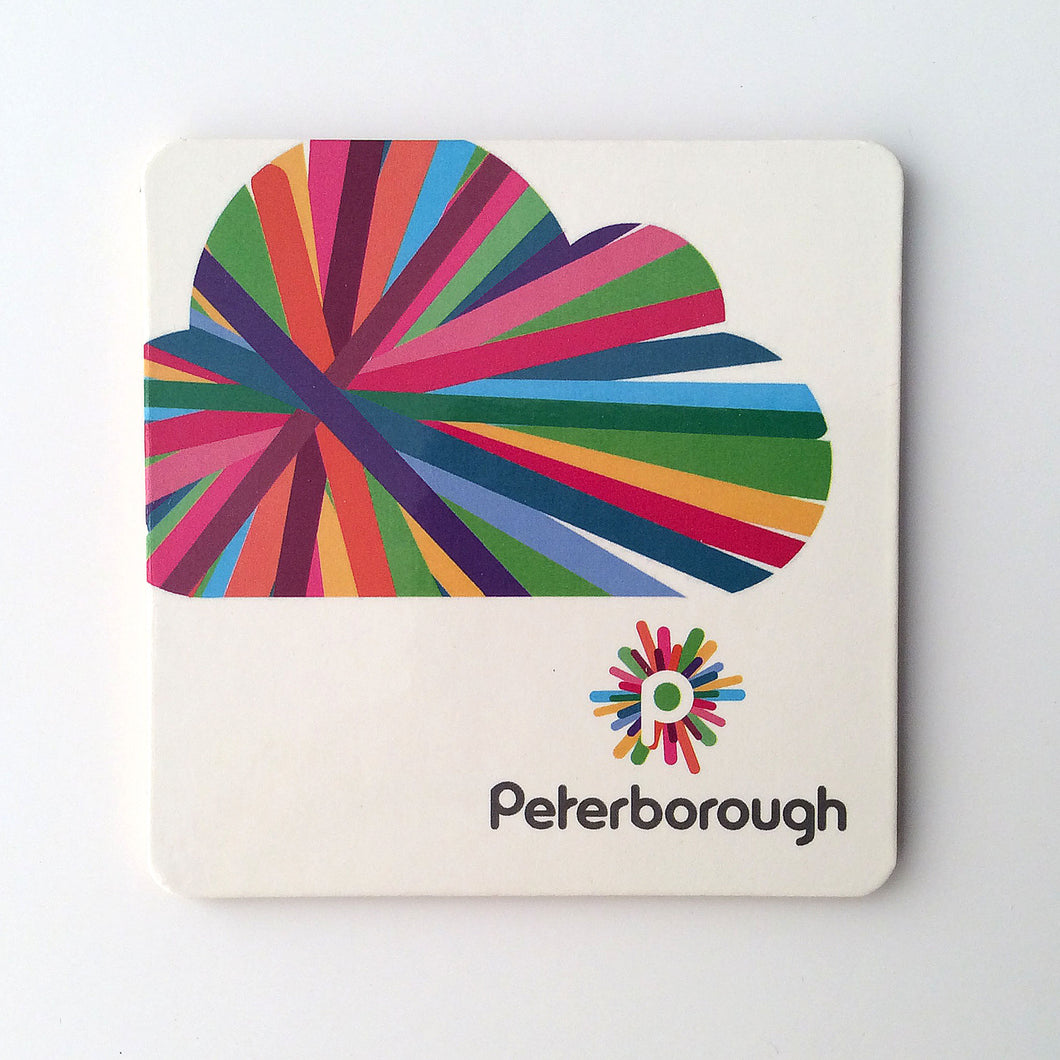 Peterborough memories range: Coaster cloud design (1) modern