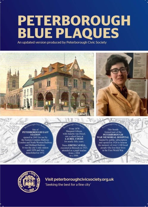 Peterborough Civic Society Blue Plaques brochure