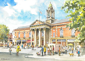 Peterborough Town Hall - Card