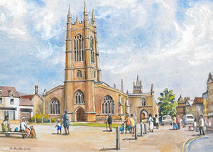 St John's Church, Peterborough (Card)