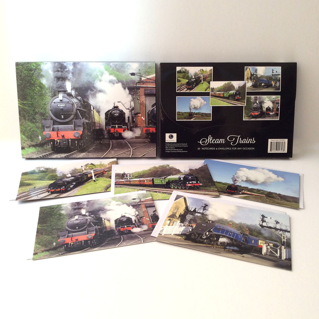 Steam Train Notecards & Envelopes