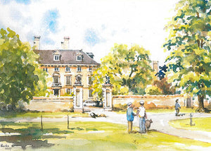 Thorpe Hall, Peterborough  (Card)