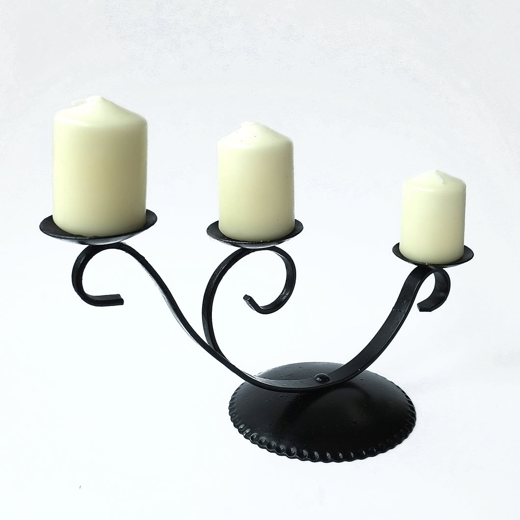 Candelabra - Triple (handcrafted) style 2