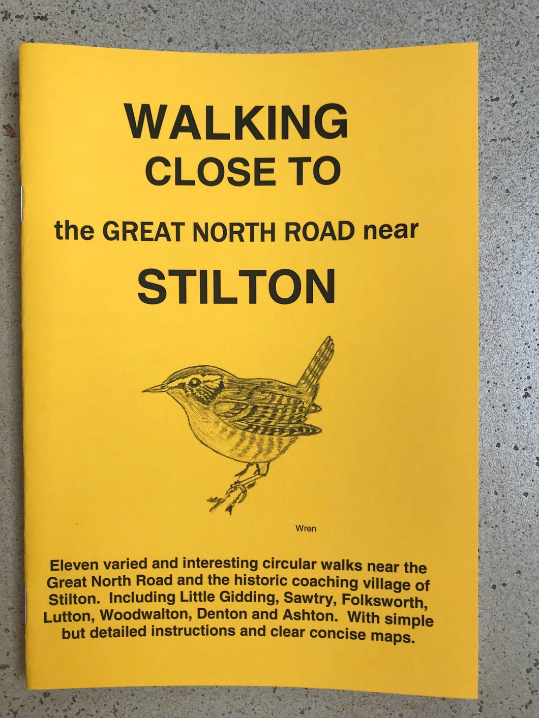Walks - Walking close to the Great North Road near Stilton