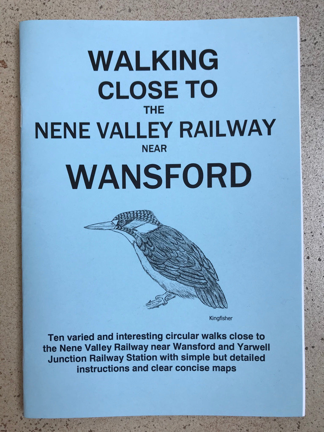 Walks - Walking close to the Nene Valley Railway near Wansford