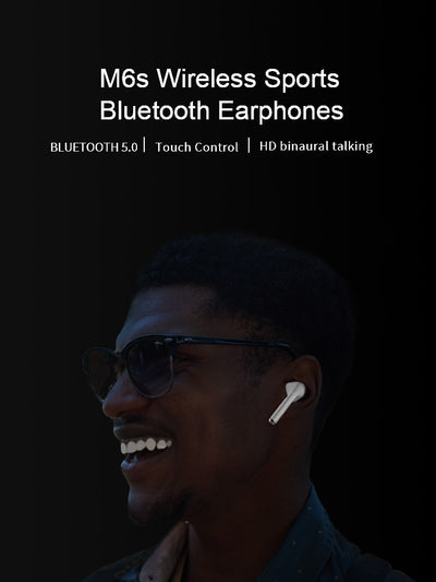Wireless Dual Earbuds Bass Sound - G y R Store