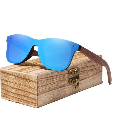 2019 Polarized Walnut Wood Sunglasses - G & R