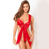 Red Women Lingerie Sleepwear - G y R Store