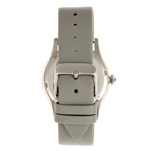 Bertha Annabelle Leather-Band Watch - Grey - BTHBR9202
