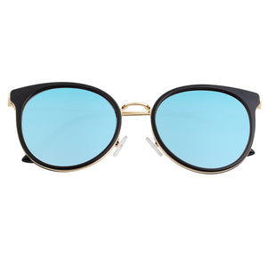 Bertha Brielle Polarized Sunglasses - Black/Blue - BRSBR040BL