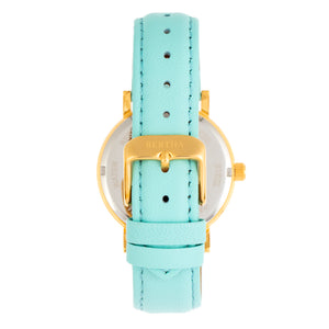 Bertha Lydia Leather-Band Watch - Mint - BTHBR9503