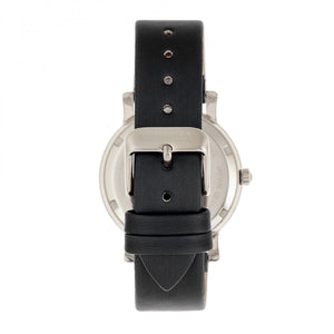 Bertha Vanessa Leather Band Watch -  Black - BTHBR8701