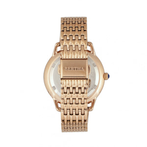 Bertha Abby Swiss Bracelet Watch - Rose Gold/Fuchsia - BTHBR6804