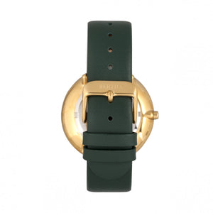 Bertha Ingrid Leather-Band Watch - Green - BTHBR9103
