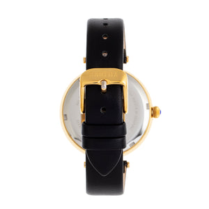 Bertha Micah Leather-Band Watch - Black - BTHBR9406
