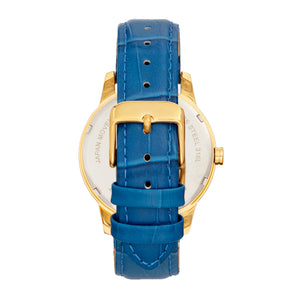 Bertha Prudence Leather-Band Watch - Blue - BTHBS1402