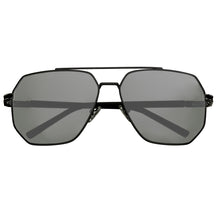 Load image into Gallery viewer, Bertha Brynn Polarized Sunglasses - Black/Black - BRSBR035GY