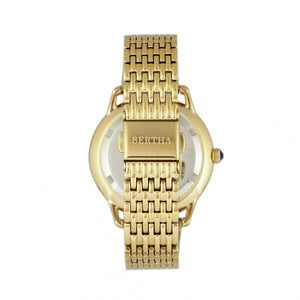 Bertha Abby Swiss Bracelet Watch - Gold/Red - BTHBR6803