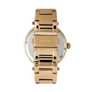 Bertha Camilla Mother-Of-Pearl Bracelet Watch - Gold - BTHBR6202