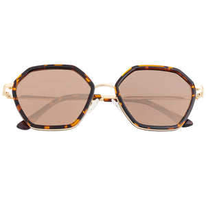 Bertha Ariana Polarized Sunglasses - Tortoise/Brown - BRSBR038BN