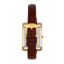 Load image into Gallery viewer, Bertha Marisol Swiss MOP Leather-Band Watch - Dark Brown - BTHBR6903