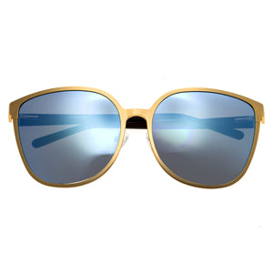 Bertha Ophelia Polarized Sunglasses - Gold/Celeste - BRSBR019G