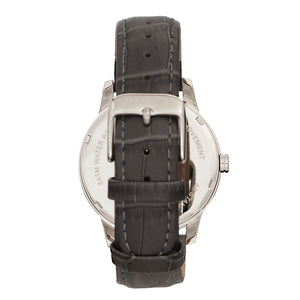 Bertha Prudence Leather-Band Watch - Grey - BTHBS1401