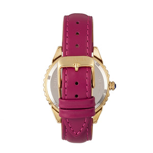 Bertha Clara Leather-Band Watch - Hot Pink - BTHBR8104