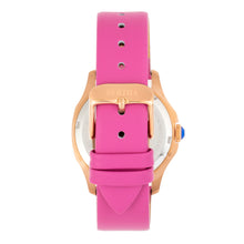Load image into Gallery viewer, Bertha Donna Mother-of-Pearl Leather-Band Watch - Pink - BTHBR9805