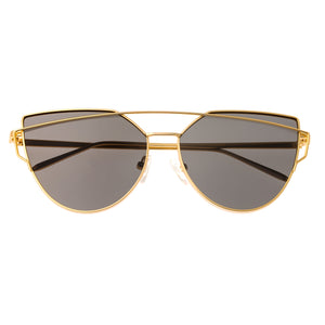 Bertha Aria Polarized Sunglasses - Gold/Black - BRSBR025BL