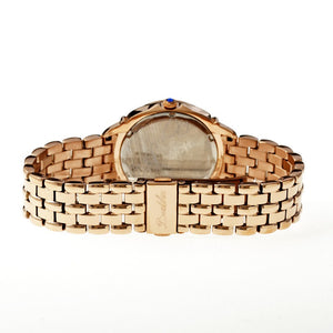 Bertha Samantha MOP Ladies Swiss Bracelet Watch - Rose Gold/White - BTHBR3905