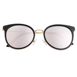 Bertha Brielle Polarized Sunglasses - Black/Rose Gold - BRSBR040RG