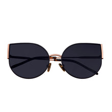 Load image into Gallery viewer, Bertha Logan Polarized Sunglasses - Rose Gold/Black - BRSBR036RG