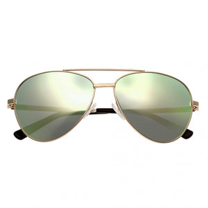 Bertha Bianca Polarized Sunglasses - Gold/Celeste-Gold - BRSBR020G