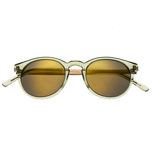 Bertha Hayley Polarized Sunglasses - Green/Gold - BRSBR014G
